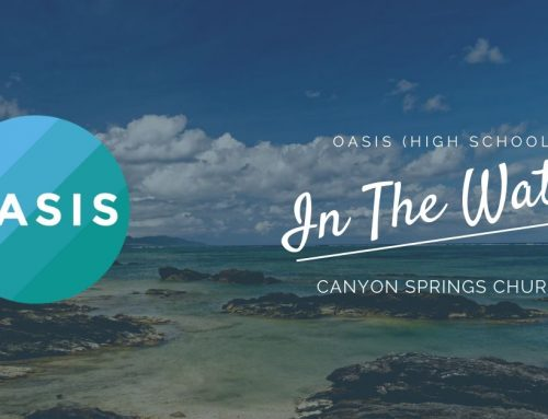 OASIS is Moving to The Cove! This Wed, 11/4, 7:30 PM | Oasis HS In the Water: 11/03/2020