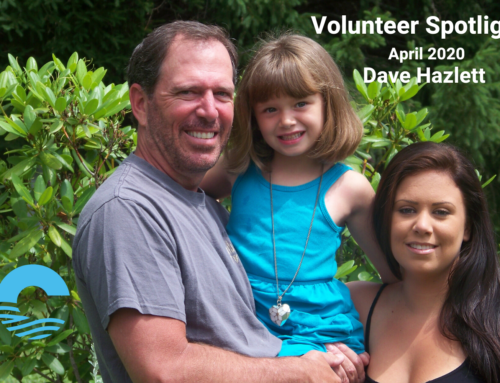 Volunteer Spotlight April 2020 ~ Dave Hazlett