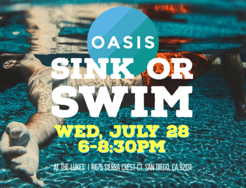 Sink or Swim Next Wednesday, 7/28, Full Hume Video Premiere! | OASIS in the Water: 7/21/2021